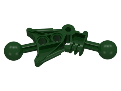 LEGO Bionicle Toa Leg [Dark Green] [32482]