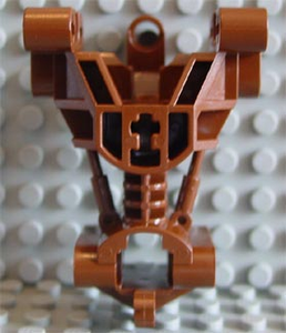 LEGO Bionicle Body Trunk Gearbox [Brown] [32489]