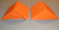 LEGO Scala Roof 24 x 22 x 7 [Orange] [33179]