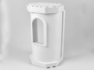 LEGO Belville Wall, Tower with Window [White] [33213]