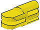 LEGO Arm Piece Straight with 2 and 3 Fingers [Yellow] [3612]