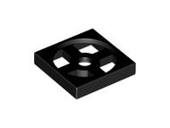 LEGO Turntable 2 x 2 Plate, Base [Black] [3680]