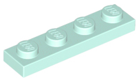 LEGO Plate 1 x 4 [Light Aqua] [3710]
