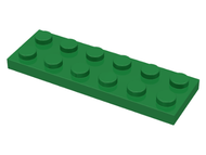 LEGO Plate 2 x 6 [Green] [3795]