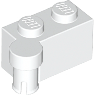 LEGO Hinge Brick 1 x 4 Swivel Top [White] [3830]