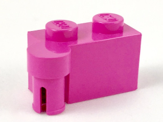 LEGO Hinge Brick 1 x 4 Swivel Top [Dark Pink] [3830]