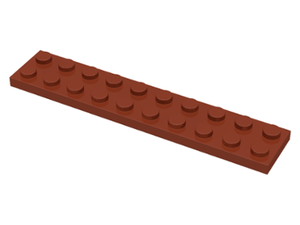 LEGO Plate 2 x 10 [Reddish Brown] [3832]