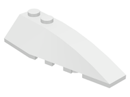 LEGO Wedge 6 x 2 Right [White] [41747]