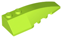 LEGO Wedge 6 x 2 Right [Lime] [41747]