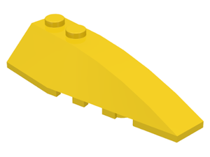 LEGO Wedge 6 x 2 Right [Yellow] [41747]