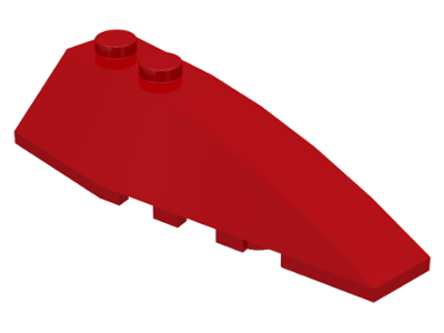 LEGO Wedge 6 x 2 Right [Red] [41747]