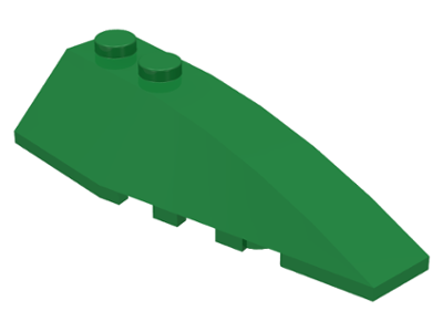 LEGO Wedge 6 x 2 Right [Green] [41747]