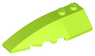 LEGO Wedge 6 x 2 Left [Lime] [41748]