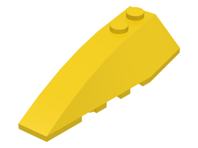 LEGO Wedge 6 x 2 Left [Yellow] [41748]