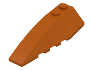 LEGO Wedge 6 x 2 Left [Dark Orange] [41748]