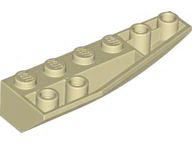 LEGO Wedge 6 x 2 Inverted Right [Tan] [41764]