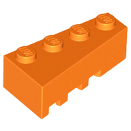 LEGO Wedge 4 x 2 Right [Orange] [41767]