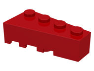 LEGO Wedge 4 x 2 Right [Red] [41767]