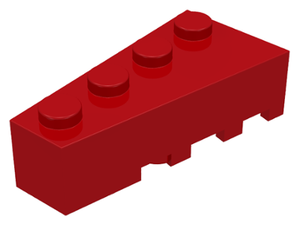 LEGO Wedge 4 x 2 Left [Red] [41768]
