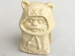 LEGO Minifigure, Head Modified SW Ewok [Tan] [41882]
