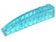 LEGO Slope, Curved 6 x 1 [Trans-Light Blue] [42022]