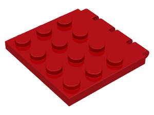LEGO Hinge Vehicle Roof 4 x 4 [Red] [4213]