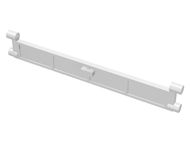 LEGO Garage Roller Door Section with Handle [White] [4219]