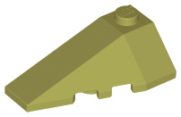 LEGO Wedge 4 x 2 Triple Left [Olive Green] [43710]