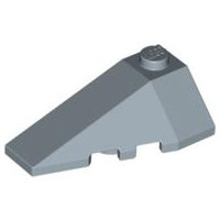 LEGO Wedge 4 x 2 Triple Left [Sand Blue] [43710]