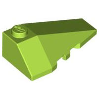 LEGO Wedge 4 x 2 Triple Right [Lime] [43711]