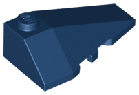 LEGO Wedge 4 x 2 Triple Right [Dark Blue] [43711]