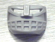 LEGO Sports Hockey Mask 6 with 14 Hole Grille [Light Gray] [45535b]