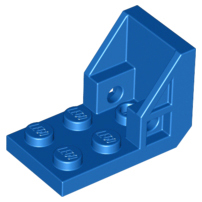 LEGO Bracket 3 x 2 - 2 x 2 (Space Seat) [Blue] [4598]