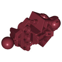 LEGO Bionicle Vahki Leg Lower Section [Dark Red] [47328]