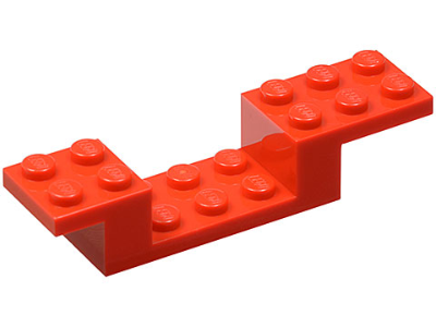 LEGO Bracket 8 x 2 x 1 1/3 [Red] [4732]