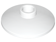 LEGO Dish 2 x 2 Inverted (Radar) [White] [4740]