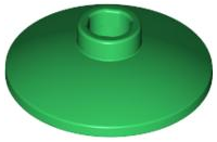 LEGO Dish 2 x 2 Inverted (Radar) [Green] [4740]