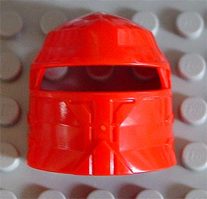 LEGO Large Figure Visor, Santis [Red] [47472]