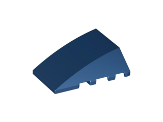 LEGO Wedge 4 x 4 No Top Studs [Dark Blue] [47753]