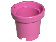 LEGO Belville Bucket with Handle Holes [Dark Pink] [48245]