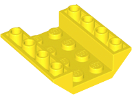 LEGO Slope, Inverted 45 4 x 4 Double [Yellow] [4854]