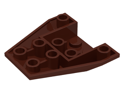 LEGO Wedge 4 x 4 Triple Inverted [Brown] [4855]