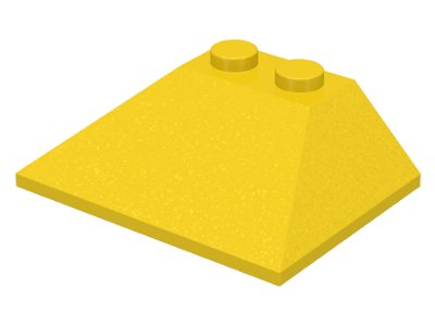 LEGO Slope 45 3 x 4 Double / 33 [Yellow] [4861]