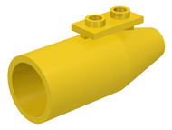 LEGO Engine, Smooth Large, 1 x 2 Thin Top Plate [Yellow] [4868a]