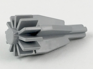 LEGO Engine, Smooth Large, Center with Fan/Gear and Technic Axle End [Light Bluish Gray] [4869]
