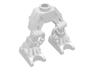 LEGO Legs Mechanical, Bionicle [White] [54276]