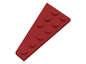 LEGO Wedge, Plate 6 x 3 Right [Dark Red] [54383]