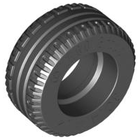 LEGO Tire 30.4 x 14 VR Solid [Black] [58090]