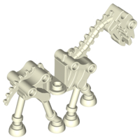 LEGO Horse, Skeletal [Glow In Dark White] [59228]