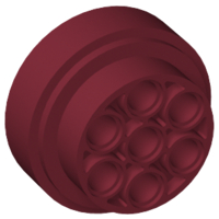 LEGO Wheel 31mm D. x 15mm Technic [Dark Red] [60208]